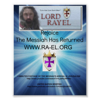 LORD RAYEL FLYER POSTER