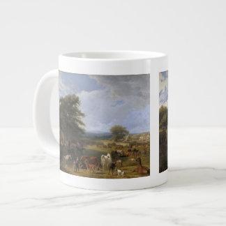 Lord River s Horse Farm oil on canvas Jumbo Mugs