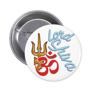 Lord Shiva 6 Cm Round Badge