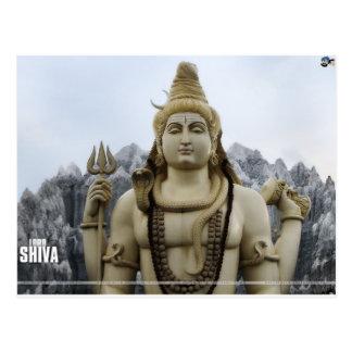 LORD SHIVA HINDU GOD POSTCARD