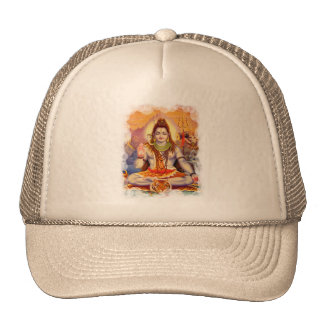 Lord Shiva Meditating Hat