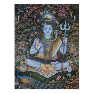 Lord Shiva Post Card