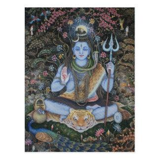 Lord Shiva Post Card