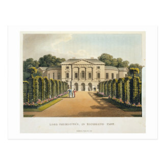 Lord Sidmouth's, in Richmond Park, from 'Fragments Postcard
