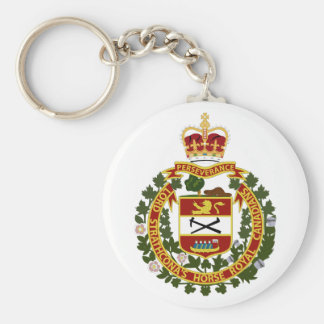 Lord Strathcona's Horse-Royal Canadians Basic Round Button Key Ring