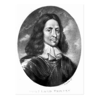 Lord Thomas Fairfax  illustration Postcard