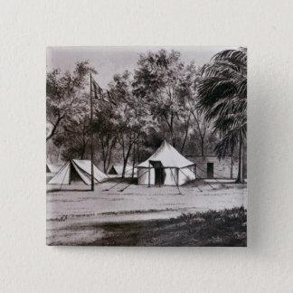 Lord Wolseley's Camp at Korti 15 Cm Square Badge