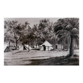 Lord Wolseley's Camp at Korti Poster