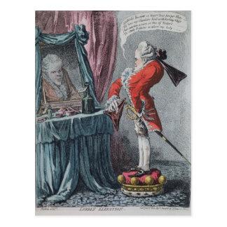 Lordly Elevation, pub. by Hannah Humphrey, 1802 Postcard