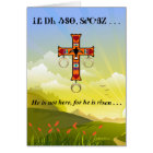 Lord's Prayer in Cherokee Blank Greeting Card