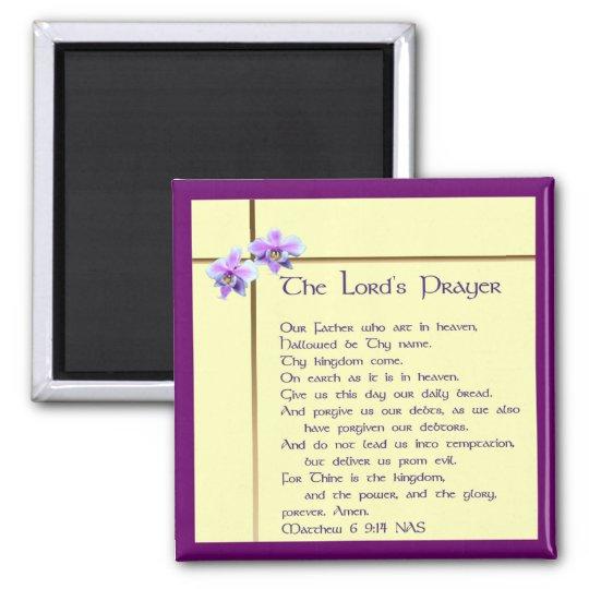 Lord's Prayer Magnet