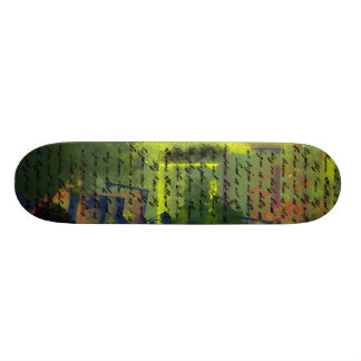 Lord's Prayer on Grundge Skate Board Decks