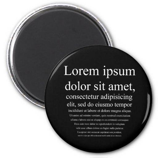Lorem Ipsum Magnet