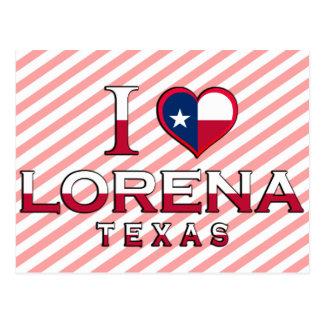 Lorena, Texas Postcard