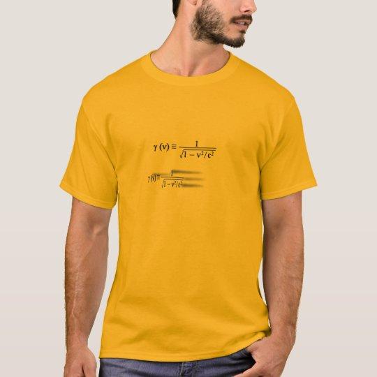 Lorentz Contraction T-Shirt