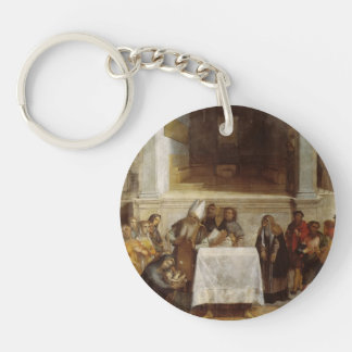 Lorenzo Lotto- Presentation of Christ in Temple Acrylic Keychains