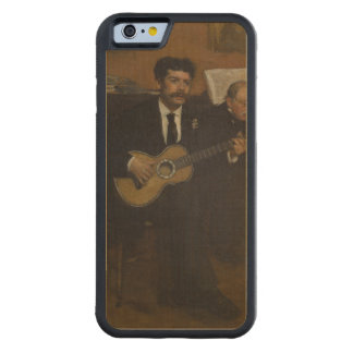 Lorenzo Pagans and Auguste de Gas by Edgar Degas Carved® Maple iPhone 6 Bumper Case