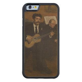 Lorenzo Pagans and Auguste de Gas by Edgar Degas Carved® Maple iPhone 6 Bumper