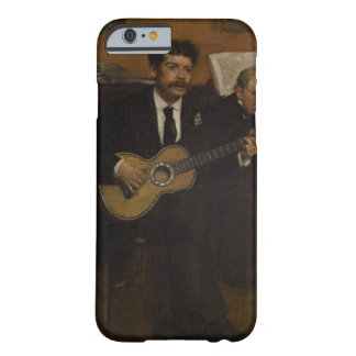 Lorenzo Pagans and Auguste de Gas by Edgar Degas Barely There iPhone 6 Case