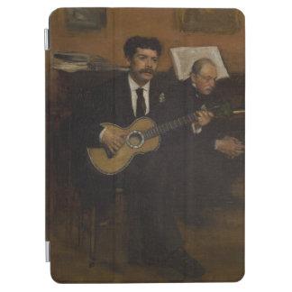Lorenzo Pagans and Auguste de Gas by Edgar Degas iPad Air Cover