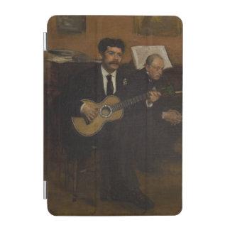 Lorenzo Pagans and Auguste de Gas by Edgar Degas iPad Mini Cover