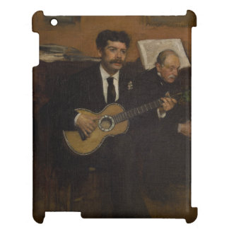 Lorenzo Pagans and Auguste de Gas by Edgar Degas iPad Cover