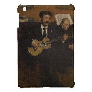 Lorenzo Pagans and Auguste de Gas by Edgar Degas iPad Mini Covers