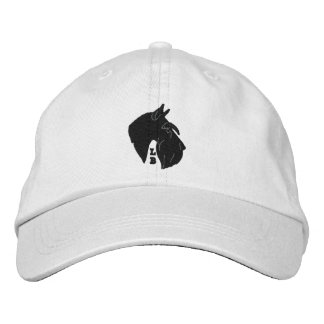 Lori Bush Silhouette Schnauzer Adjustable Cap