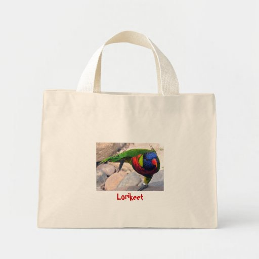 Lorikeet Canvas Bag