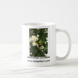 Lorikeet Basic White Mug