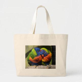 Lorikeets in Love Tote Bag