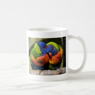 Lorikeets in Love Coffee Mugs