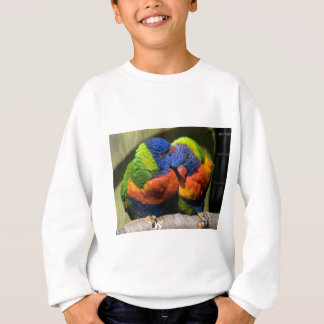 Lorikeets in Love Sweatshirt