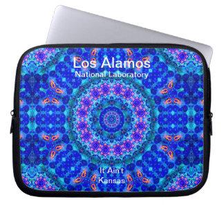 Los Alamos - Blue Lagoon of Liquid Shafts of Light Laptop Computer Sleeve