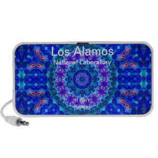 Los Alamos - Blue Lagoon of Liquid Shafts of Light Notebook Speakers