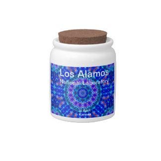 Los Alamos - Blue Lagoon of Liquid Shafts of Light Candy Dish