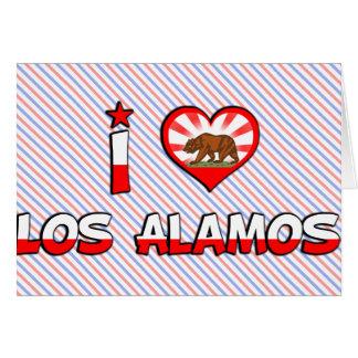 Los Alamos, CA Greeting Card