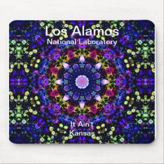 Los Alamos - Heaven's Reprise of the Blue Universe Mouse Pad