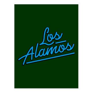 Los Alamos in cyan Post Cards