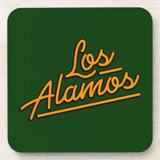 Los Alamos in orange Drink Coasters