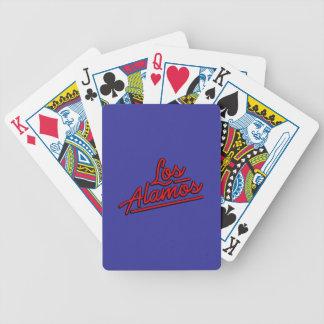 Los Alamos in red Deck Of Cards
