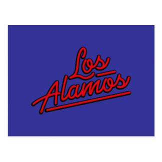 Los Alamos in red Post Cards