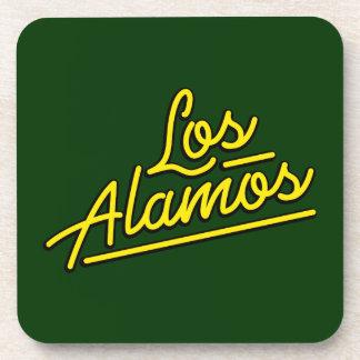 Los Alamos in yellow Drink Coaster