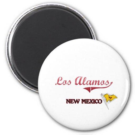 Los Alamos New Mexico City Classic Magnet