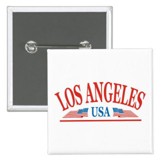Los Angeles 15 Cm Square Badge