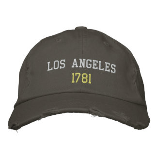 Los Angeles 1781 Embroidered Hats
