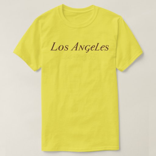 Los Angeles 24-7-365 Shirt For LA Basketball Fans