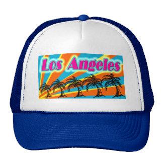 Los Angeles 5 Palm Trees Hat