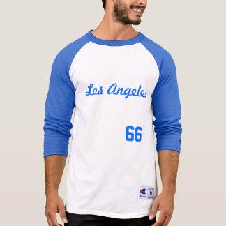 LOS ANGELES #66 MEN'S 3/4 RAGLAN SHIRT