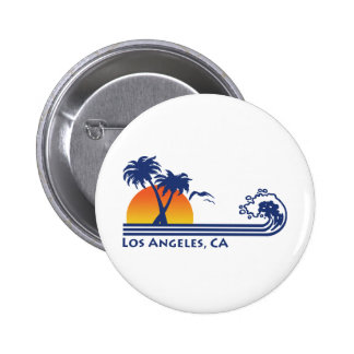 Los Angeles 6 Cm Round Badge